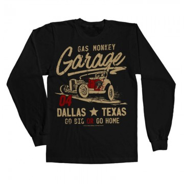 Tee shirt GO Big or go home Gas Monkey Garage