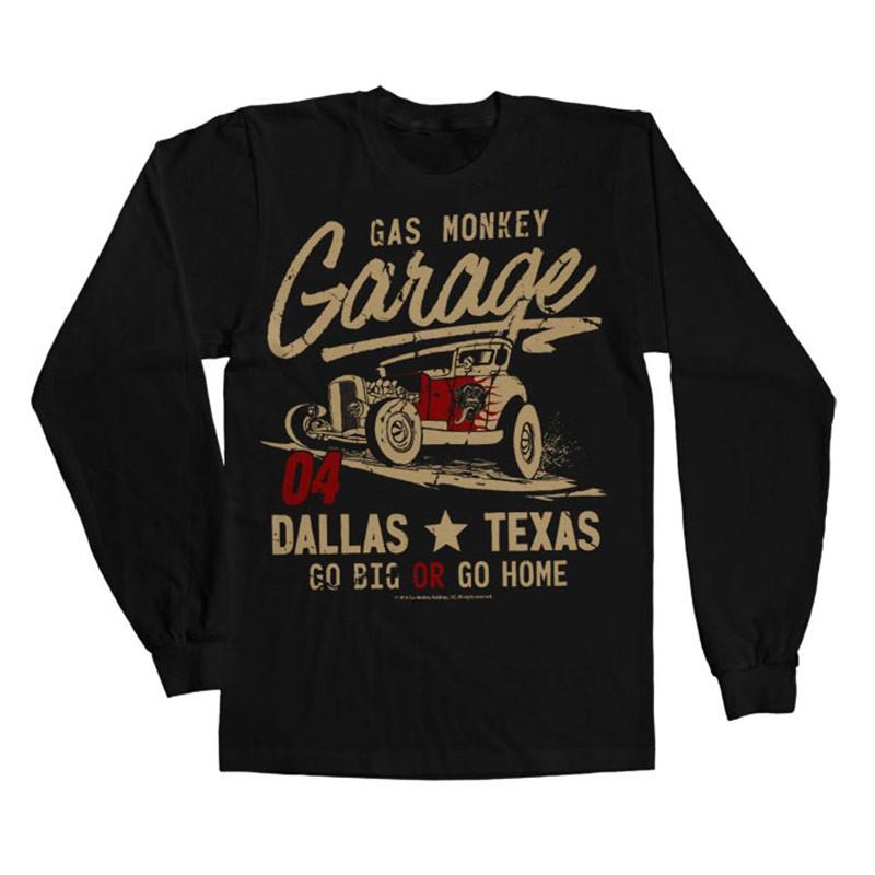 Tee shirt GO Big or go home Gas Monkey Garage