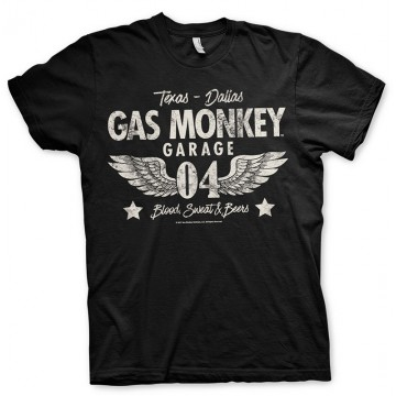 Tee-shirt Wings Gas Monkey Garage
