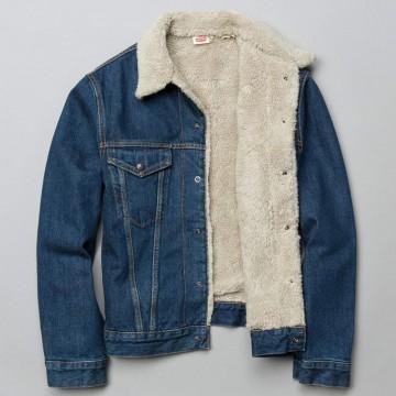 Blouson jean 1967 type III sherpa LEvi's Vintage