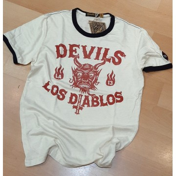 Tee-shirt Los Diablos Johnson Motors