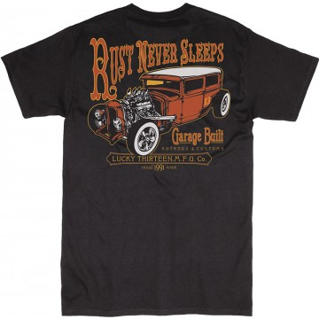 Tee-shirt Rust never sleeps Lucky 13