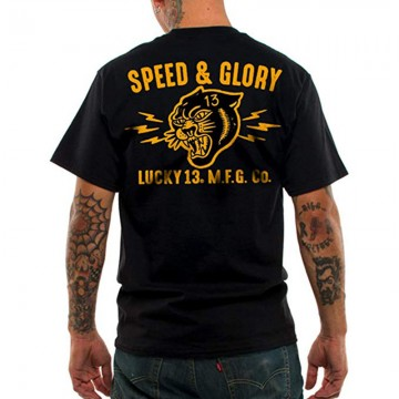 Tee-shirt Speed and Glory Lucky 13