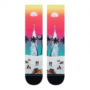 Chaussettes surfskate moon beach Stance