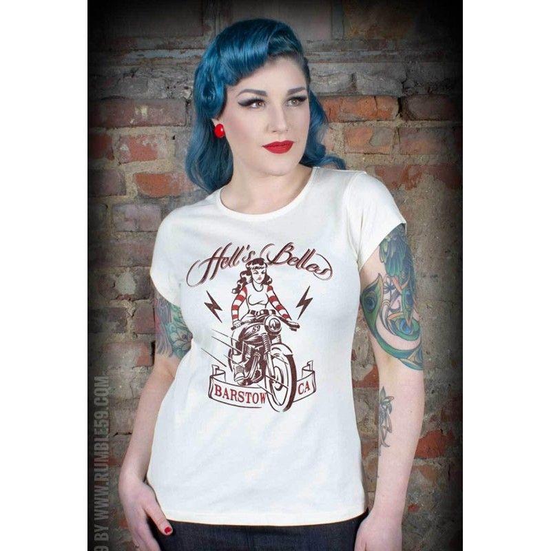 Tee-shirt Helli's belles Rumble 59