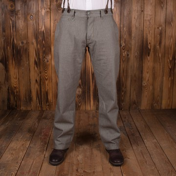 Pantalon Hunting 1942 HBT marron Pike Brothers