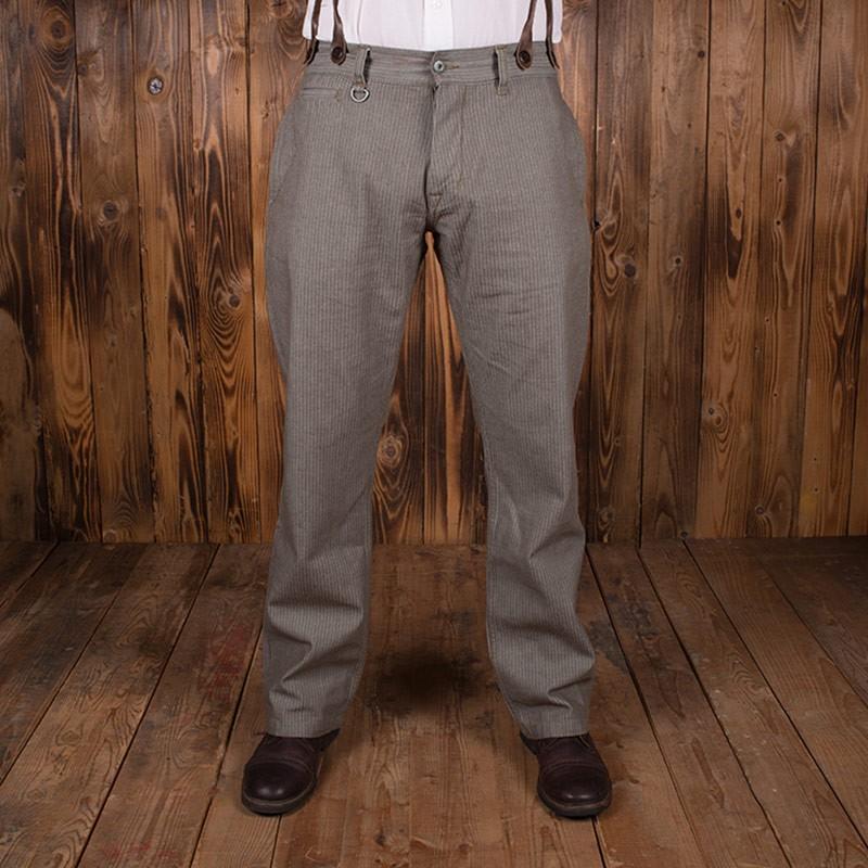 Pantalon Hunting 1942 HBT marron Pike Brothers