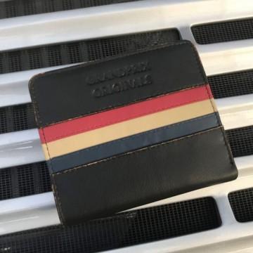Portefeuille noir vintage Grandprix Originals