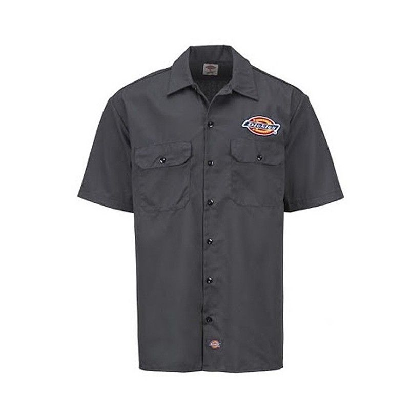 Chemise Clintondale grise Dickies