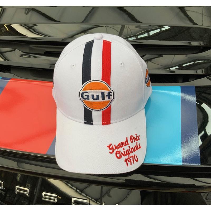 Casquette Gulf 1970 blanche Grandprix Originals