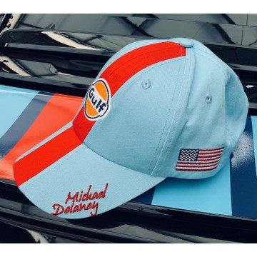 Casquette M. Delaney blue Grandprix Originals