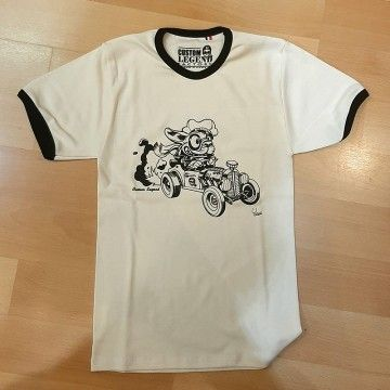 Tee-shirt Hotrod Dog Custom Legend