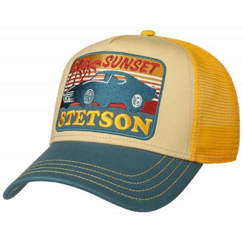 Casquette trucker Sunset Stetson