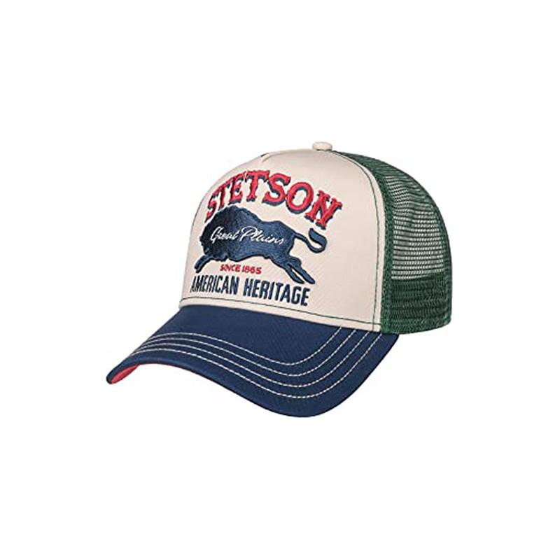 Casquette trucker great plains Stetson
