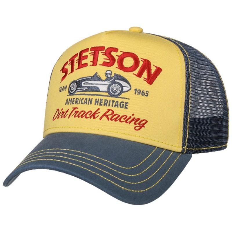 Casquette trucker dirt track racing Stetson
