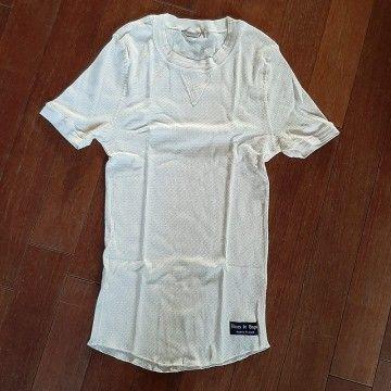 Le tricot Elysée MC beige Fleurs de bagne