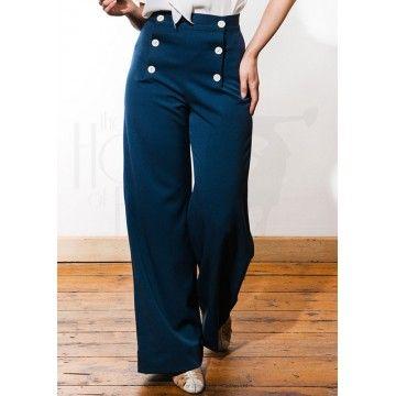 Pantalon de pont navy