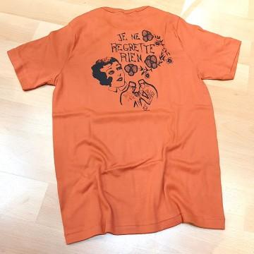 """Tee-shirt """"Je ne regrette rien"""" Fleurs de Bagne"""