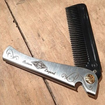 Peigne carbon Custom legend