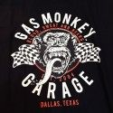 Tee-shirt twin flags Gas Monkey