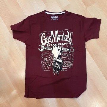 Tee-shirt mechanics spanner Gas Monkey