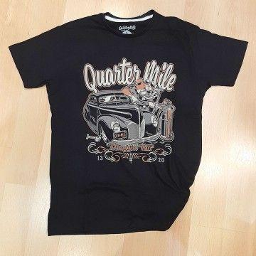 Tee-shirt Draggin'tail Quarter Mile