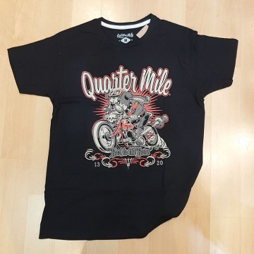 Tee-shirt Bad to the bone Quarter Mile