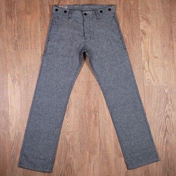 Pantalon hunting 1942 gris rayé Pike Brothers