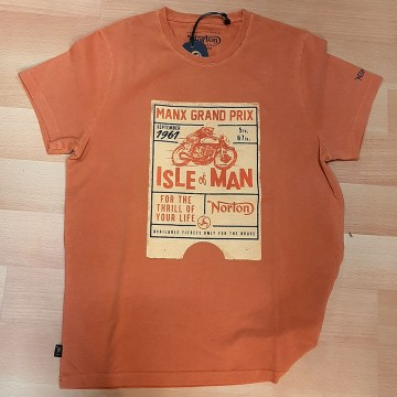 Tee-shirt Isle of Man Norton