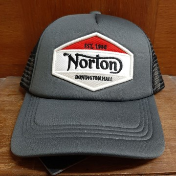 Casquette trucker black Norton