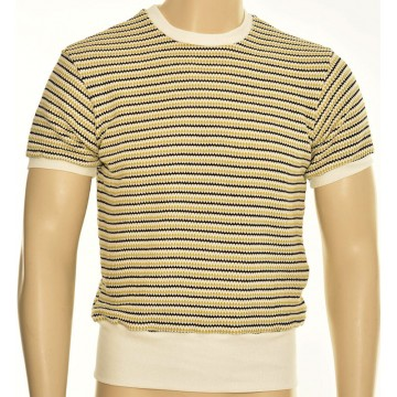 Polo homme maille rétro lemon Freddies of Pinewood