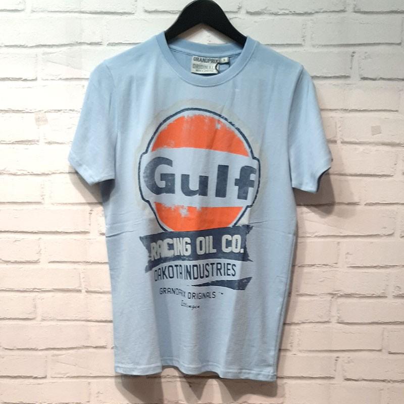 Tee-shirt gulf oil racing Grandprix Originals