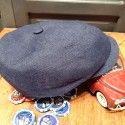 Casquette driver bleue Stetson