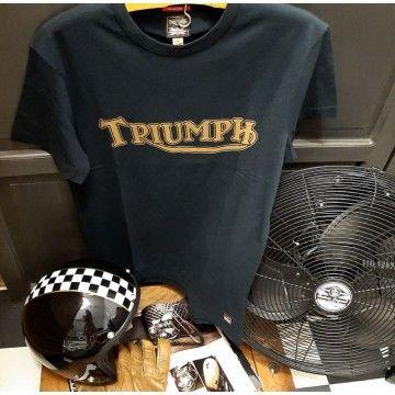 Tee-shirt Fork seal noir Triumph