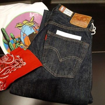 Levi's® Vintage Clothing 1947 rinsed 501® Jean
