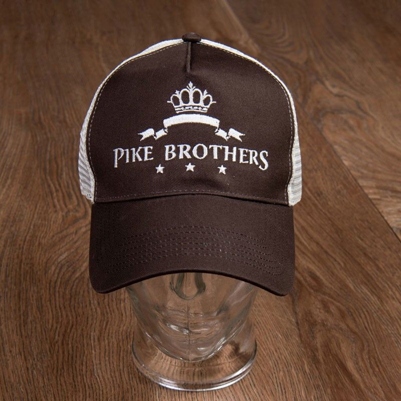 Casquette logo marron Pike Brothers