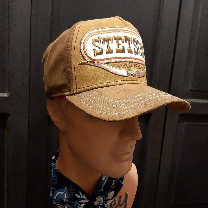 Casquette trucker Buffalo Horn Stetson