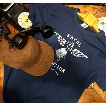 Tee-shirt naval aviation navy In Memories