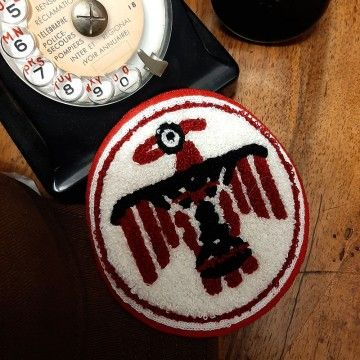 Patch chenille Thunderbird In Memories