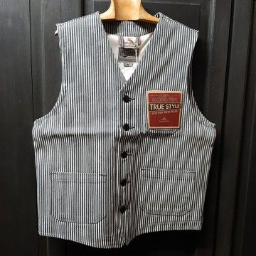 gilet roamer hickory gris Pike Brothers