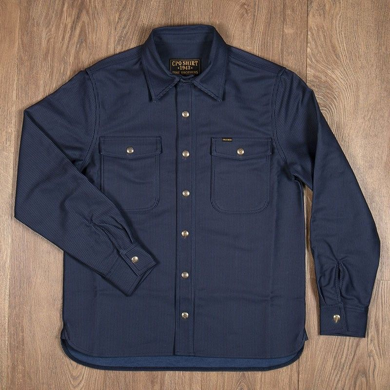 Chemise CPO 1943 Hamburg blue Pike Brothers