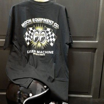 Tee-shirt Loser Machine Mooneyes fastest lap