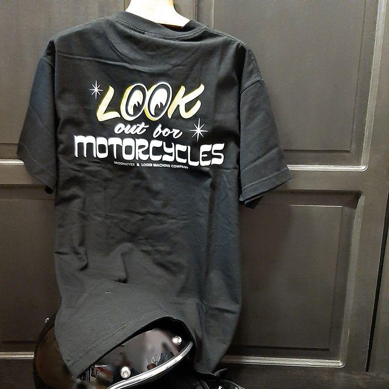 Tee-shirt Loser Machine Mooneyes look out