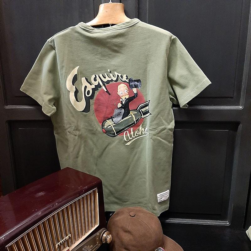 Tee-shirt Esquire In Memories