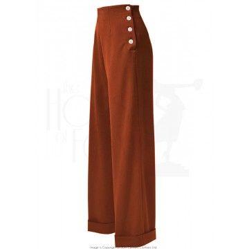 Pantalon swing femme