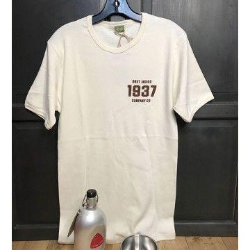 Tee-shirt Joe Petrali Brut Indigo