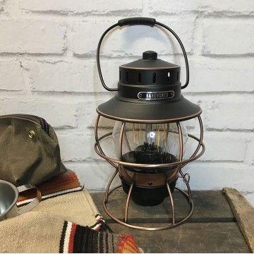 Lanterne de chemin de fer bronze Barebones