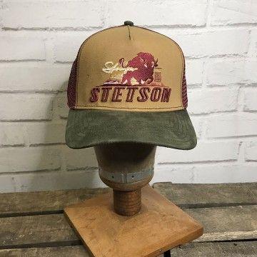 Casquette trucker stronger bison Stetson
