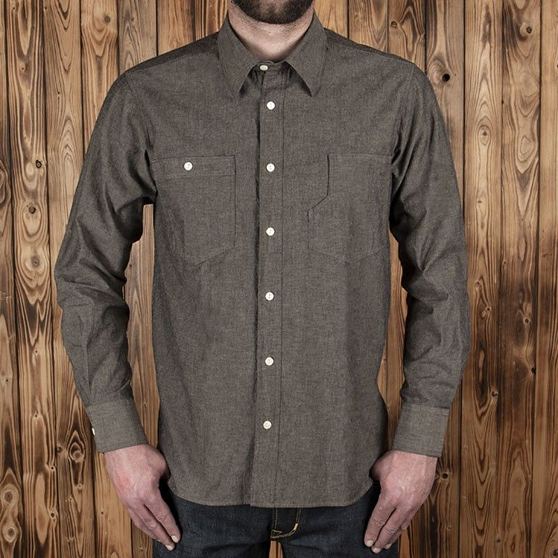 Chemise Roamer 1937 charcoal Pike Brothers