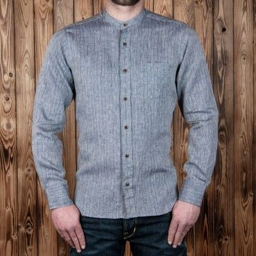 Chemise Buccanoy 1923 Hudson grey Pike Brothers